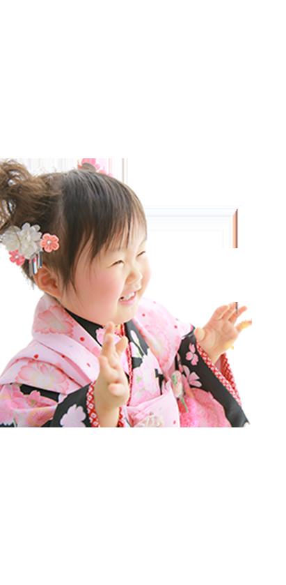 3歳女の子七五三和装衣装